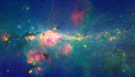 Peony Nebula in the Ocean Sky